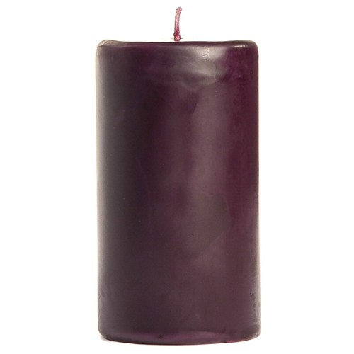 2x3 Scented Merlot Pillar Candle