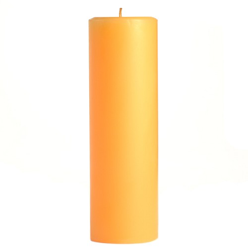 2x6 Scented Creamsicle Pillar Candle