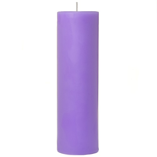 2x6 Scented Lavender Pillar Candle