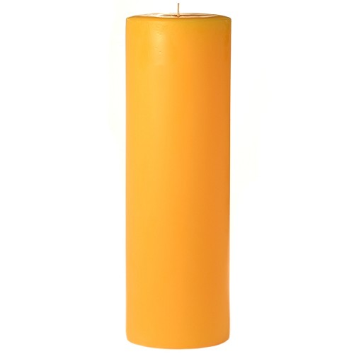 2x6 Scented Sunflower Pillar Candle