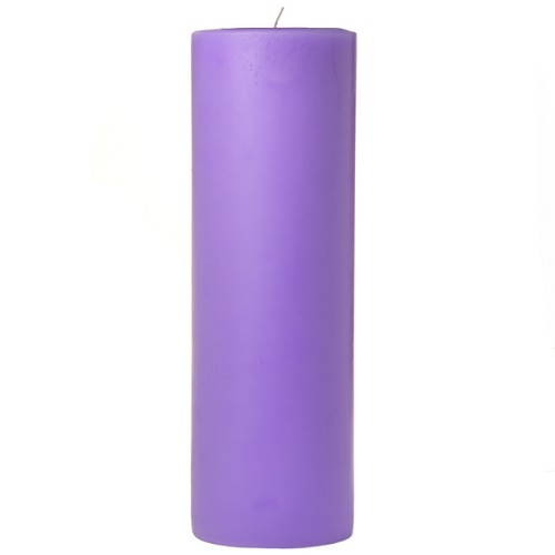 3x9 Scented Lavender Pillar Candle