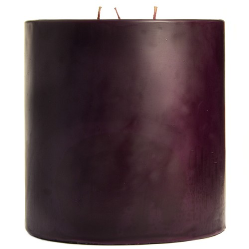 6x6 Scented Merlot Pillar Candle