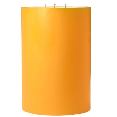 6x9 Scented Sunflower Pillar Candle