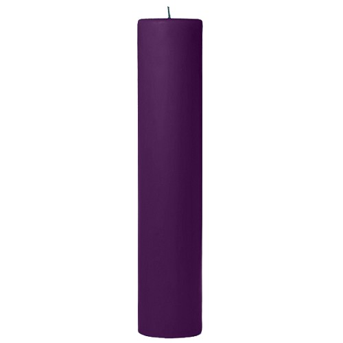 2x9 Scented Lilac Pillar Candle
