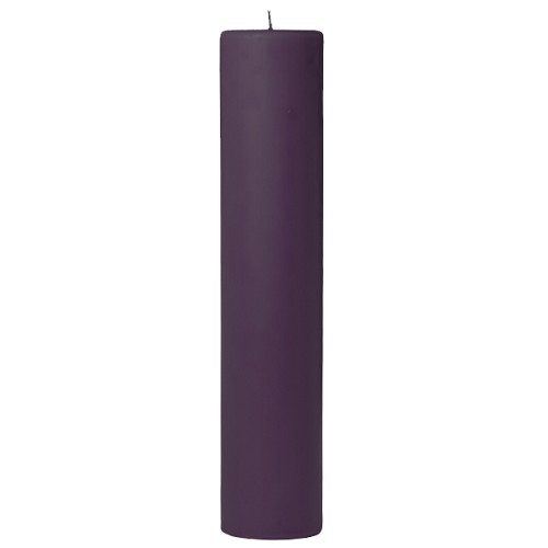 3x12 Scented Lilac Pillar Candle