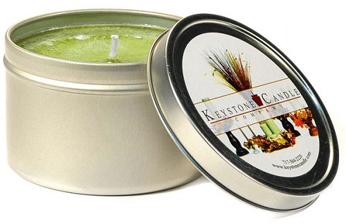 Sage and Citrus Scented Tins 4 oz